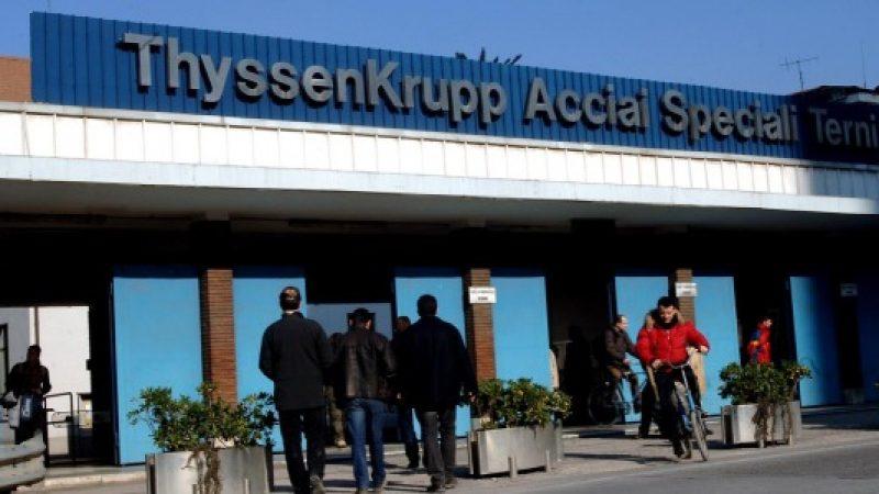 ThyssenKrupp conferma i 550 licenziamenti | I sindacati indicono una manifestazione