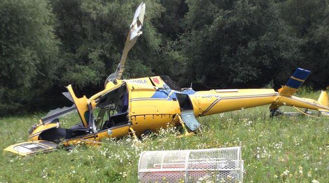 Elicottero Antincendio : Cade elicottero antincendio due morti l incidente al