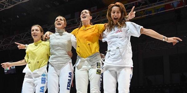 Scherma, un altro oro per le italiane: è trionfo con la Russia nel fioretto a squadre