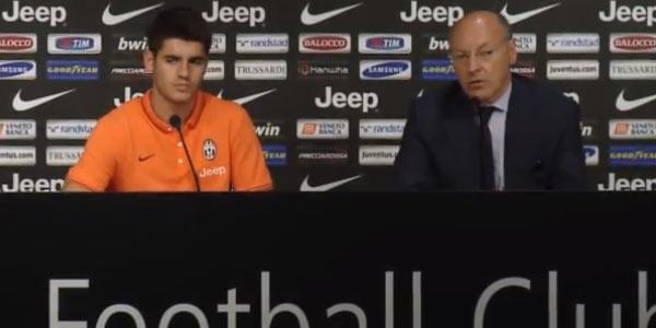 """Juventus, Morata si presenta e punta in alto: """"Con questa squadra possiamo vincere tutto"""""""