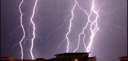 tempesta di fulmini a roma nord, maltempo al centro sud,