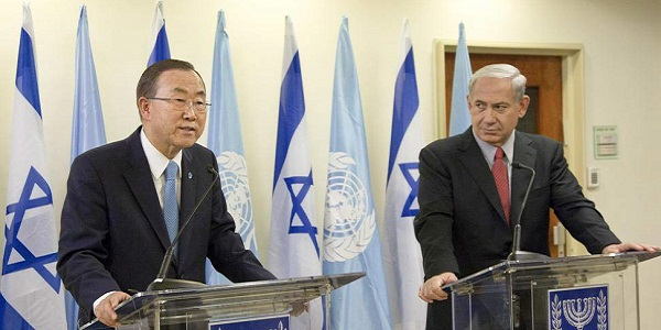 """Gaza, Netanyhau: """"Hamas è come Al Qaeda""""   Duro Ban Ki-Moon: """"Smettete di combattere"""""""