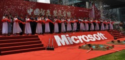 microsoft cina china inchiesta anti monopolio windows joan li nuova cina france presse perquisizione sorpresa