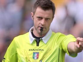 Rizzoli, Genoa-Fiorentina, infortunio Rizzoli, Rizzoli si infortuna, Di Bello al posto di Rizzoli, Rizzoli al posto di Di Bello