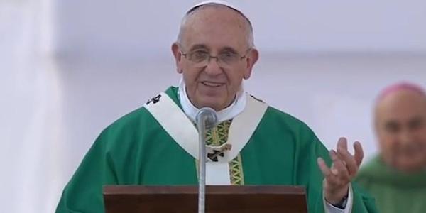 """""""Cadano tutti i muri che dividono il mondo""""   Il Papa esorta ad """"aprire i cuori e costruire ponti"""""""