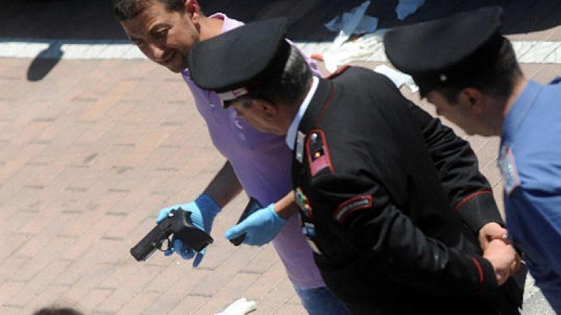 Sparatoria a Perugia, il killer è clinicamente morto