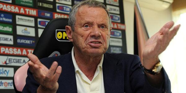 """Palermo, Zamparini: """"Vendo il club, sono stufo di questo calcio. Vazquez? Lo vogliono in tanti"""""""