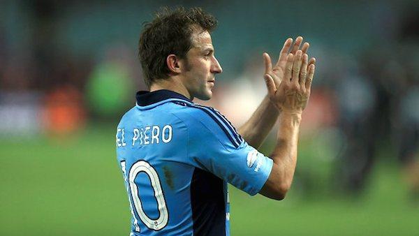 Del Piero vicino agli indiani del Delhi Dynamos, ma a gennaio volerà negli USA