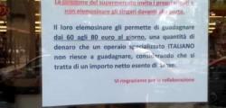 cartello supermercato rom catania