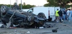 incidente stradale manfredonia, incidente manfredonia, morti 3 ragazzi, mafredonia morti tre ragazzi, incidente bmw x3 manfredonia, morto francesco cellamare, morto francesco paradiso, morto giovanni biancofiore, umberto napolitano