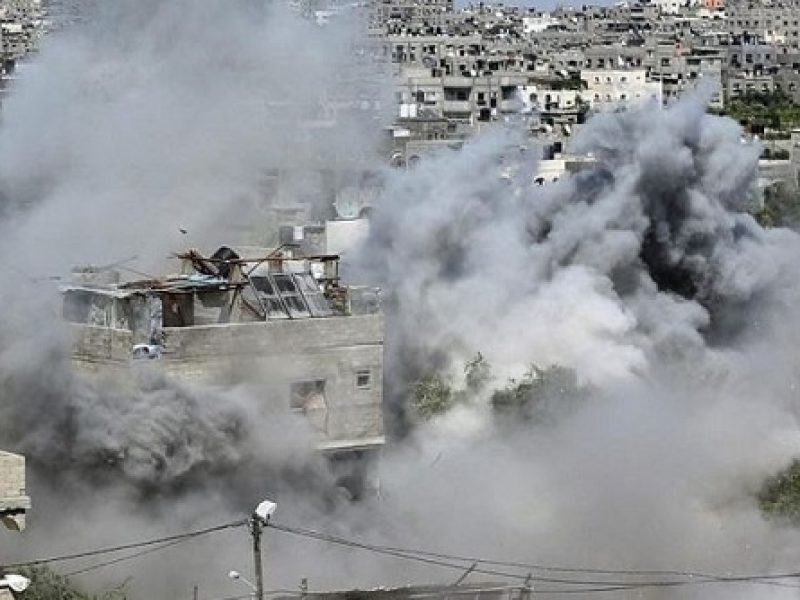 gaza, raid israeliano, quattro morti, morti nella striscia di gaza