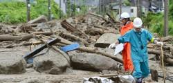 Hiroshima, frane Hiroshima, maltempo Hiroshima, piogge Hiroshima