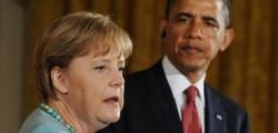 Angela merkel, Barack obama, Berlino, germania, merkel, Nato, obama, obama in Germania, Obama per la Merkel, Obama su Trump, Obama vota Merkel