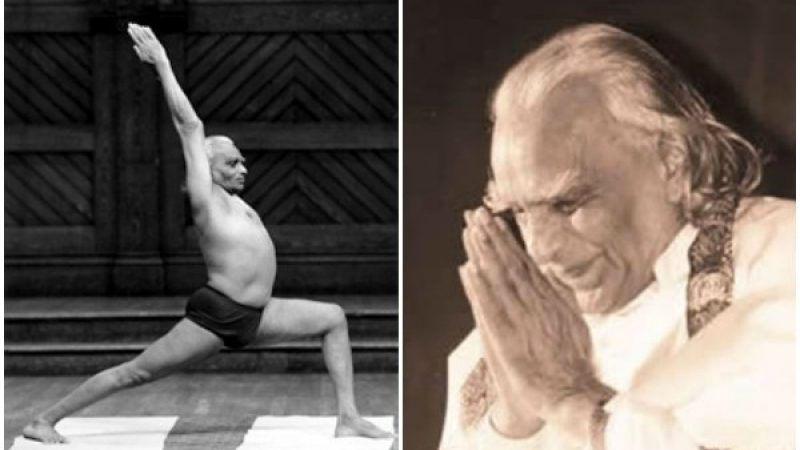 India, morto il guru dello yoga Iyengar