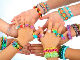 rainbow loom, braccialetti con elastici, come fare braccialetti con elastici, tutorial rainbow loom