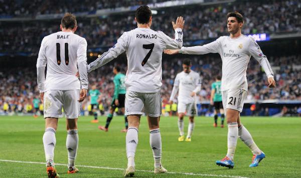Liga, Real Madrid al fotofinish: Marcelo piega il Valencia (2 – 1). Il Barcellona vince il derby