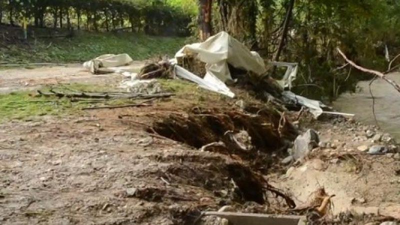 Teramo, grossa frana sulla Provinciale 8   Oltre 20 abitazioni sono state evacuate