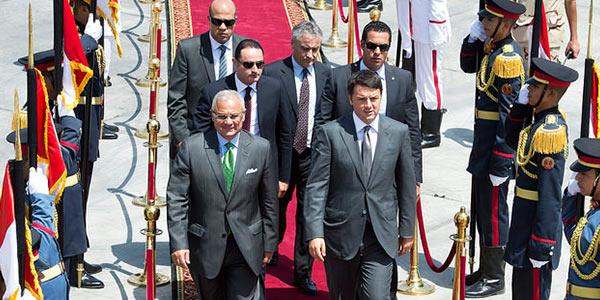 gaza renzi appoggio la proposta egiziana unica