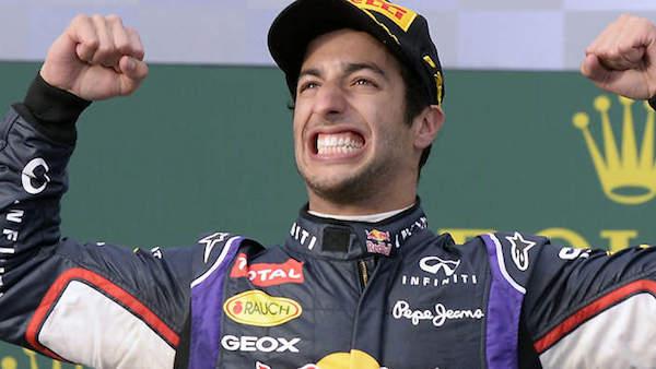 Formula 1, l'australiano Ricciardo conquista Spa Secondo Rosberg, quarto Raikkonen