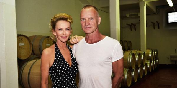 sting 260 euro raccogliere oliva uva tenuta toscana telegraph il palagio vino trudie styler