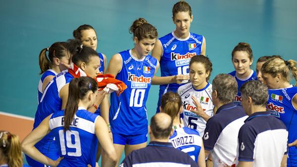 Volley femminile, l'Italia chiude il Grand Prix battendo il Belgio