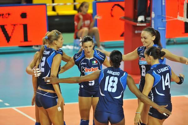 Volley, Mondiali femminili: Italia sul velluto (3-0) contro la Tunisia