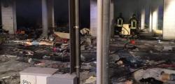 bomba negozio calzature francavilla fontana un morto