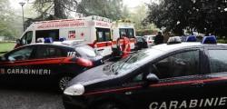 carabinieri, ambulanza,