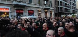 Saluto romano, fascismo, Mussolini, saluto romano vietato