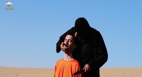 Isis, il video integrale della decapitazione di David Haines