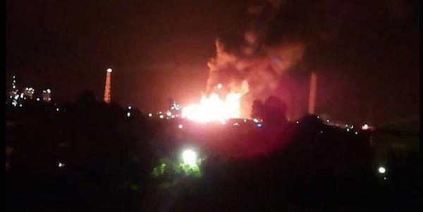 """Incendio alla raffineria di Milazzo, le reazioni   Lorenzin: """"Relazione sui rischi per la popolazione"""""""