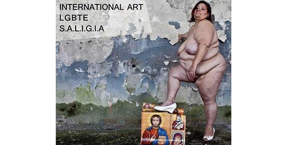 Mostra Internazionale d'arte LGBTE a Torino | È polemica per l'immagine della locandina