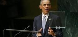 Barack obama, Matteo Renzi, obama, obama all'onu, Obama contro la Russia, Obama parla all'Onu, Obama sulla Russia, Onu, Renzi