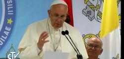 papa francesco, albania, tirana, uccidere in nome di dio sacrilegio