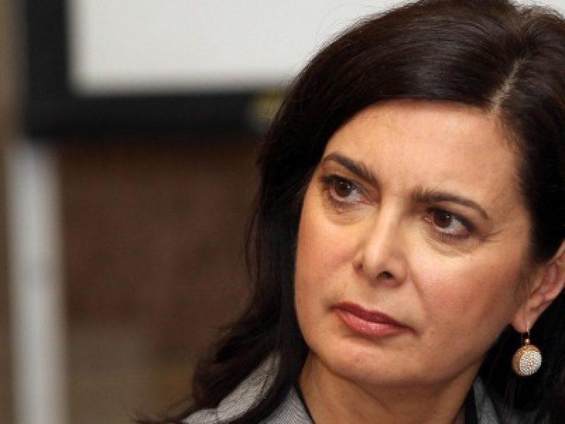 Laura boldrini, presidente della camera dei deputati, turchia, crisi turca, erdogan, golpe turco, critica politica, migranti, ue,
