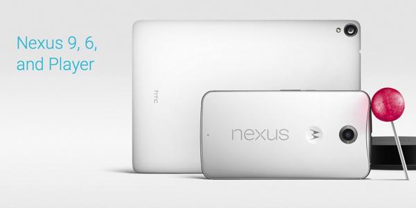 Google presenta Nexus 6 e Nexus 9 | I nuovi smartphone e tablet di Mountain View
