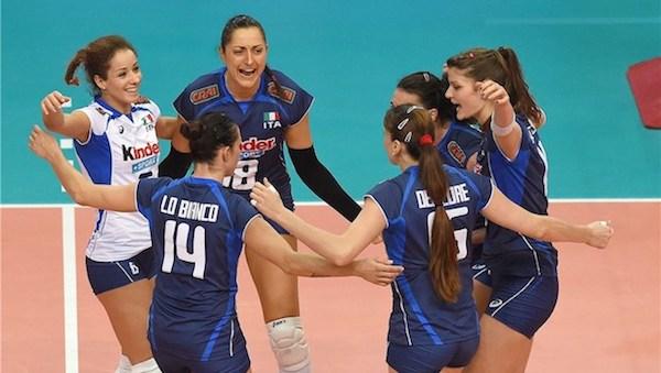 Volley, Mondiali femminili: l'Italia chiude in bellezza. Cina k.o (3-1) e primo posto nel girone