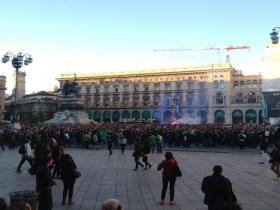 Milano, scontri a milano, Saint Etienne, Inter-Saint Etienne