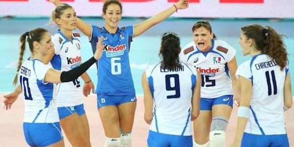 Volley donne: Italia-Russia alle 13 su RaiSport 1, qualificazione olimpica