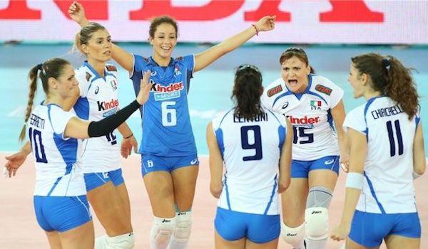 Volley: l'Italdonne dà spettacolo, anche gli Usa sono k.o (3-0)