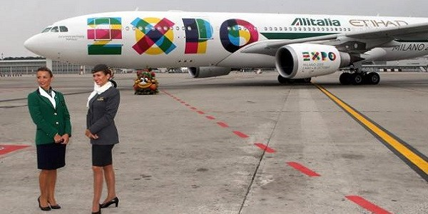 Falmec Per Expo Milano 2015 : Alitalia arrivano gli aerei per l expo voleranno tra