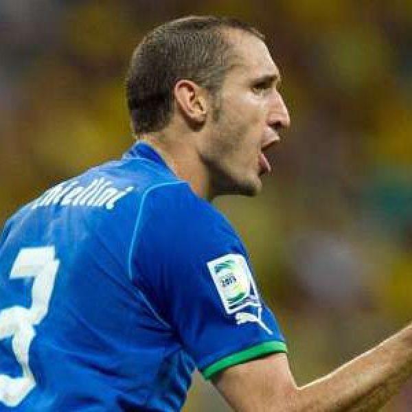 Italia, che flop! Con la Macedonia solo 1-1   A Chiellini risponde il rosanero Trajkovski