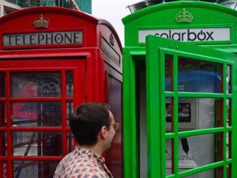 Cabina Telefonica Londra Nome : Londra una vecchia cabina telefonica diventa salad bar