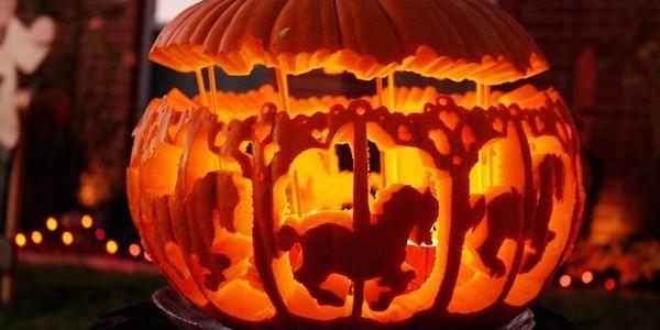 Halloween zucca mania come intagliarla e decorarla for Foto zucche halloween
