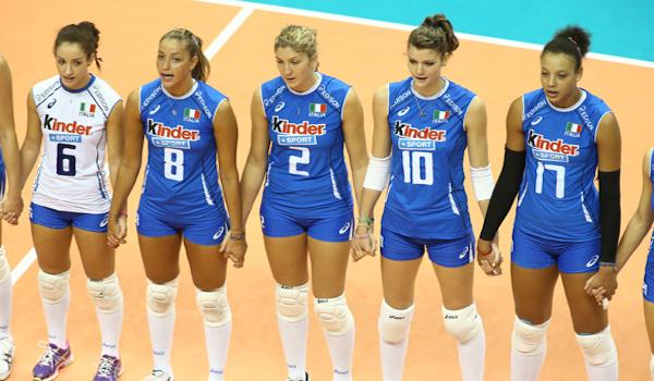 Volley, Mondiali femminili: l'Italia batte il Belgio 3-0 e vola al secondo posto
