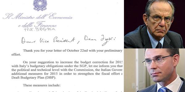 Legge di stabilità, ecco la risposta all'Ue | Si punta su riforme e spending review