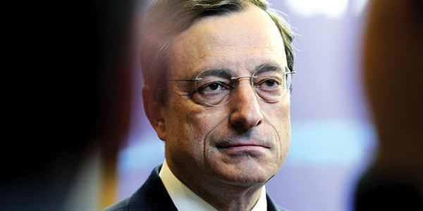 """Manovra, Draghi è fiducioso: """"Spread dannoso, credo all'accordo con l'Ue"""""""
