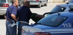 polizia, aggressione a latina