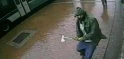 polizia, new york, colpiti, accetta, ucciso aggressore, agenti colpiti new york, ipotesi terrorismo
