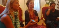 sabina guzzanti presenta il film la trattativa a palermo, la trattativa, film la trattativa, palermo